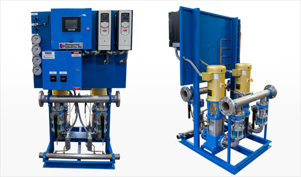 Design of Duplex Water Booster System for University of Illinois Football Center