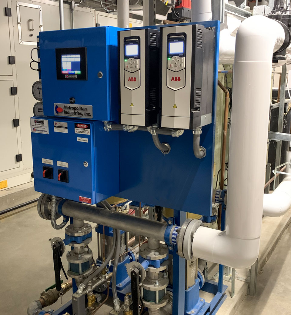 Design & Manufacturing of Duplex Water Booster System for Henry Dale and Betty Smith Football Center