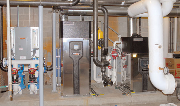 Hybrid Boiler System Package and Primary Pump System