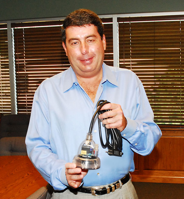 Metropolitan Industries, Inc. President John Kochan Jr with Ion Digital Level Control Switch