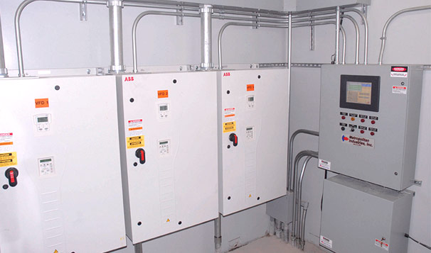 Lift Station Controls for Upgraded O'Hara Lift Station in Romeoville, IL