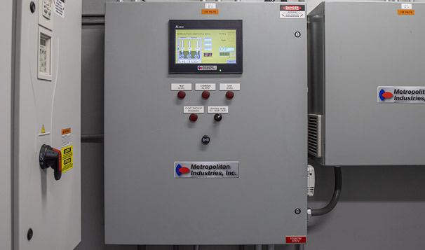 Touch Screen Control Integrated with Cloud SCADA