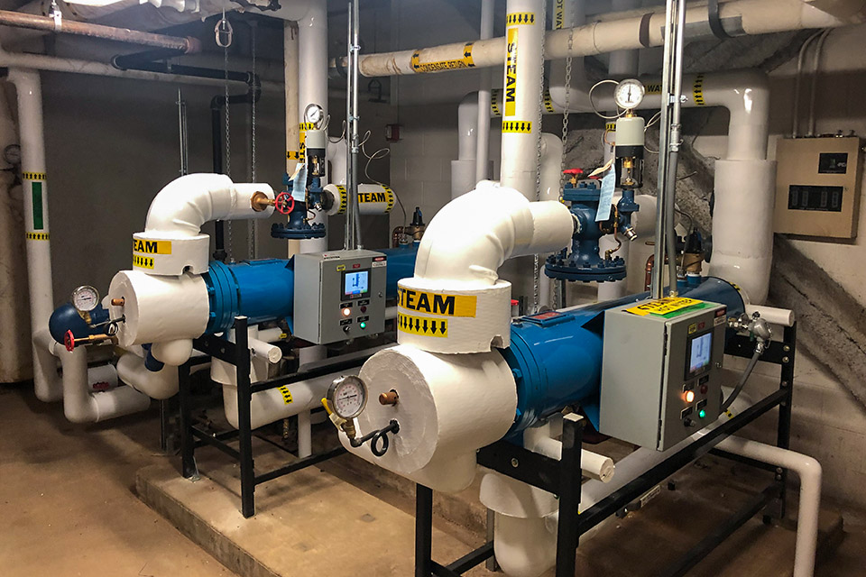 Successful Installation of Semi-Instantaneous Steam Fired Water Heating System for UI Hospital