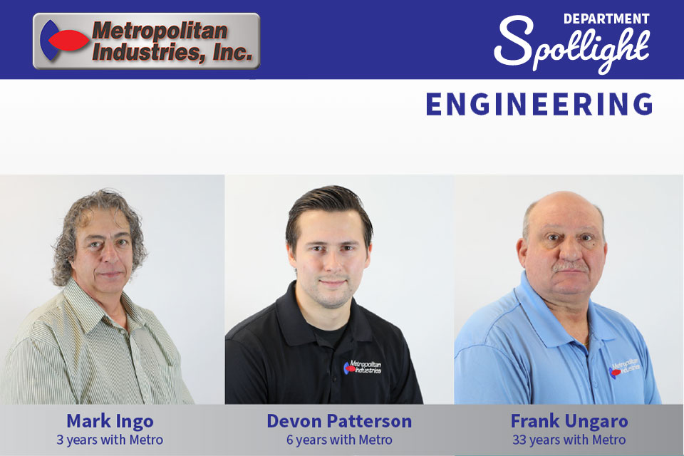 Mechanical Engineering Department Spotlight at Metropolitan Industries