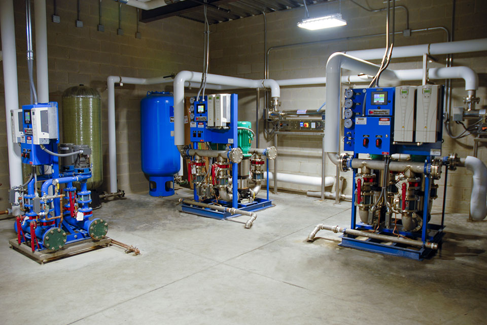 Packaged Booster Pump System for Chicago Craft Brewery