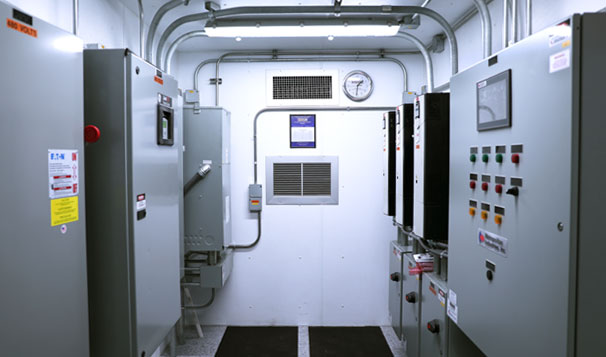 Manufacturing of Prefabricated Lift Station Control Station - Interior