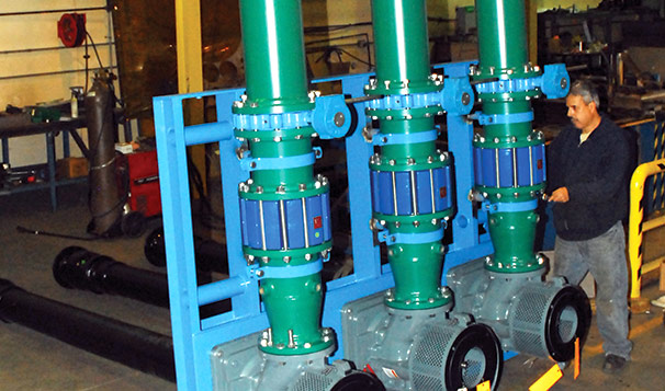 Vertical Turbine Pumps on Fabricated System