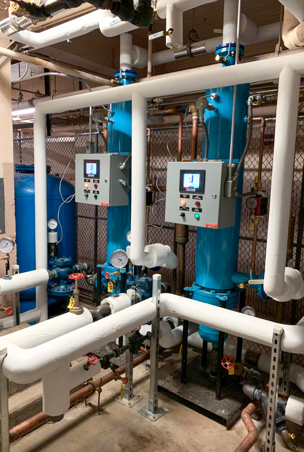 Semi-Instantaneous Water Heaters, Hilton Chicago