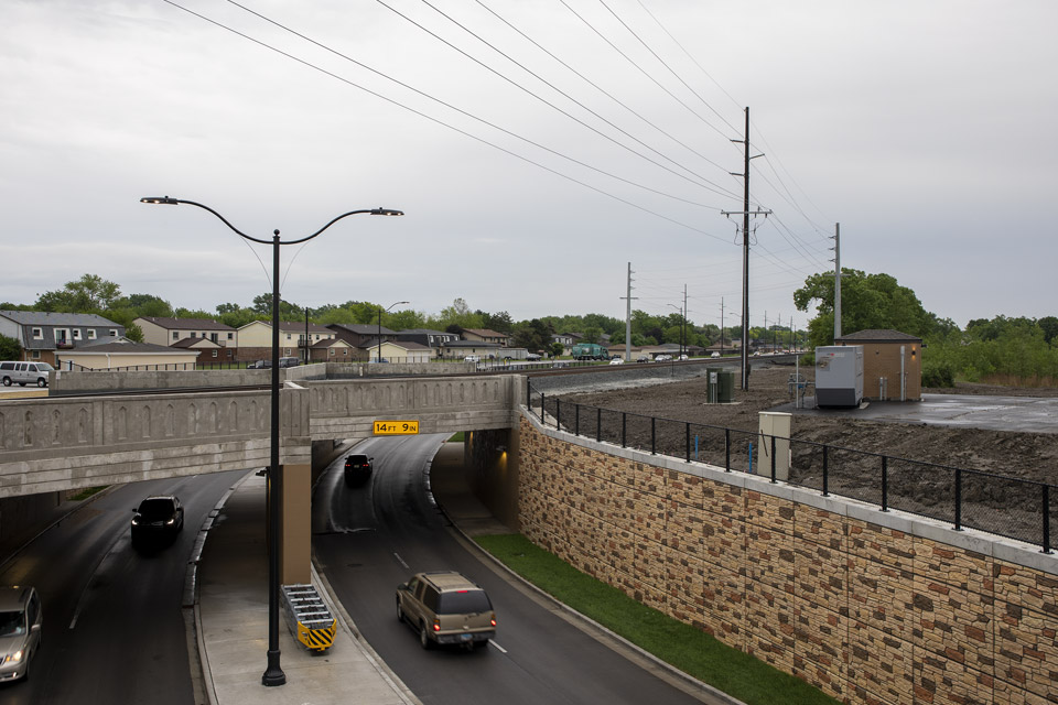 Stormwater Station for Road Underpass in Munster, Ind.
