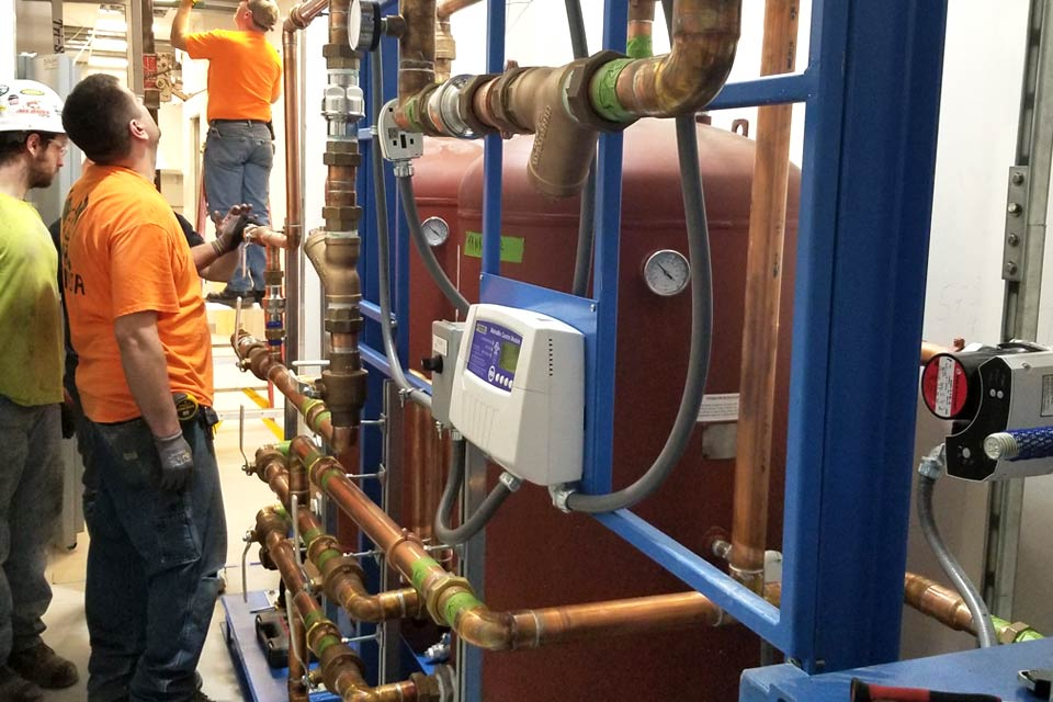 Sucessful Installation of a Temperature Control System