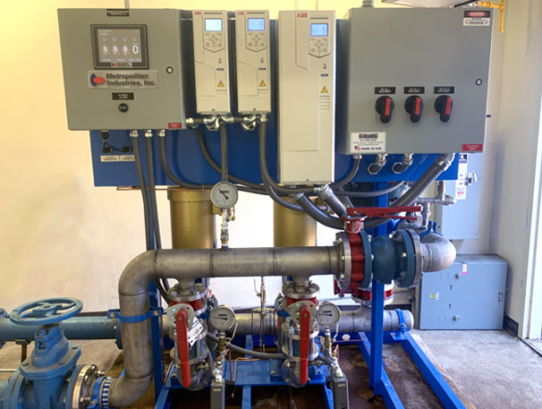 Vertical Multi-Stage Booster System Upgrade on Wesskum Woods Road, Glove Cities