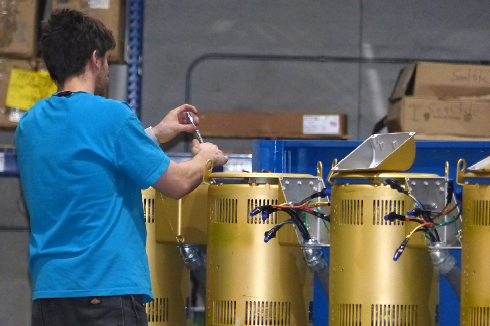 Water Booster Systems Custom Built, Programmed, and Tested In-House
